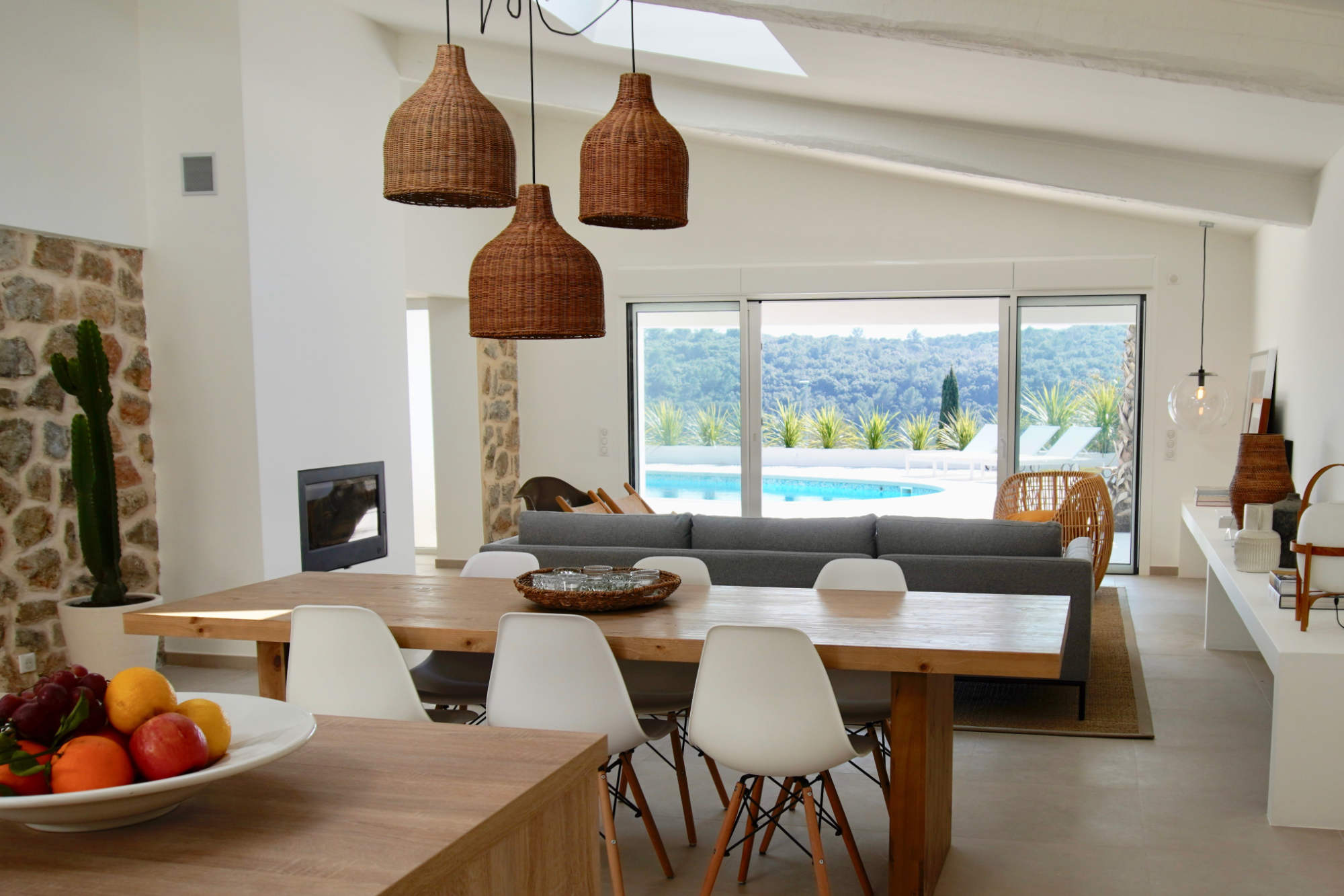 Villa d'Arte French Riviera Living Room
